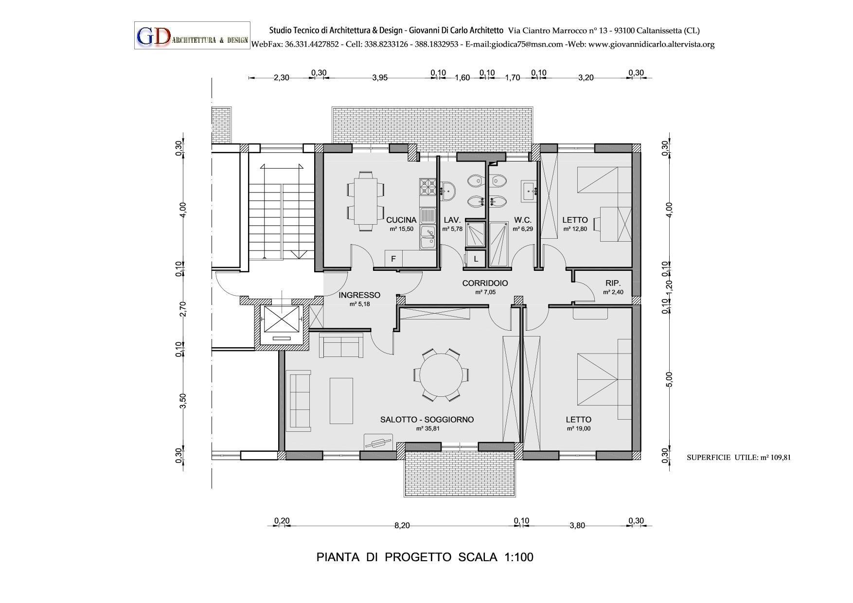 Free disegno with planimetria di una casa for Miglior design della planimetria