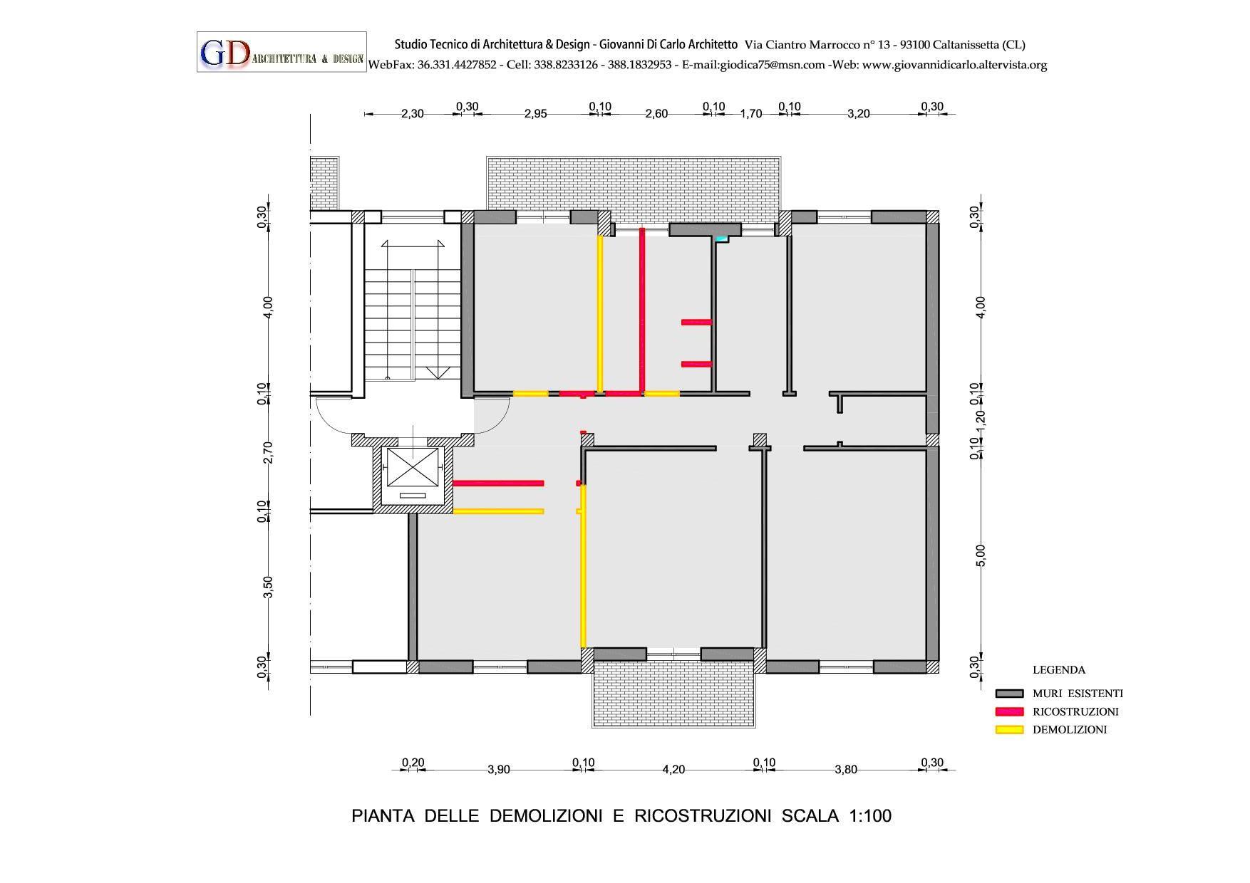 Ristrutturazione edilizia caltanissetta giovanni di for Progettazione di architettura online