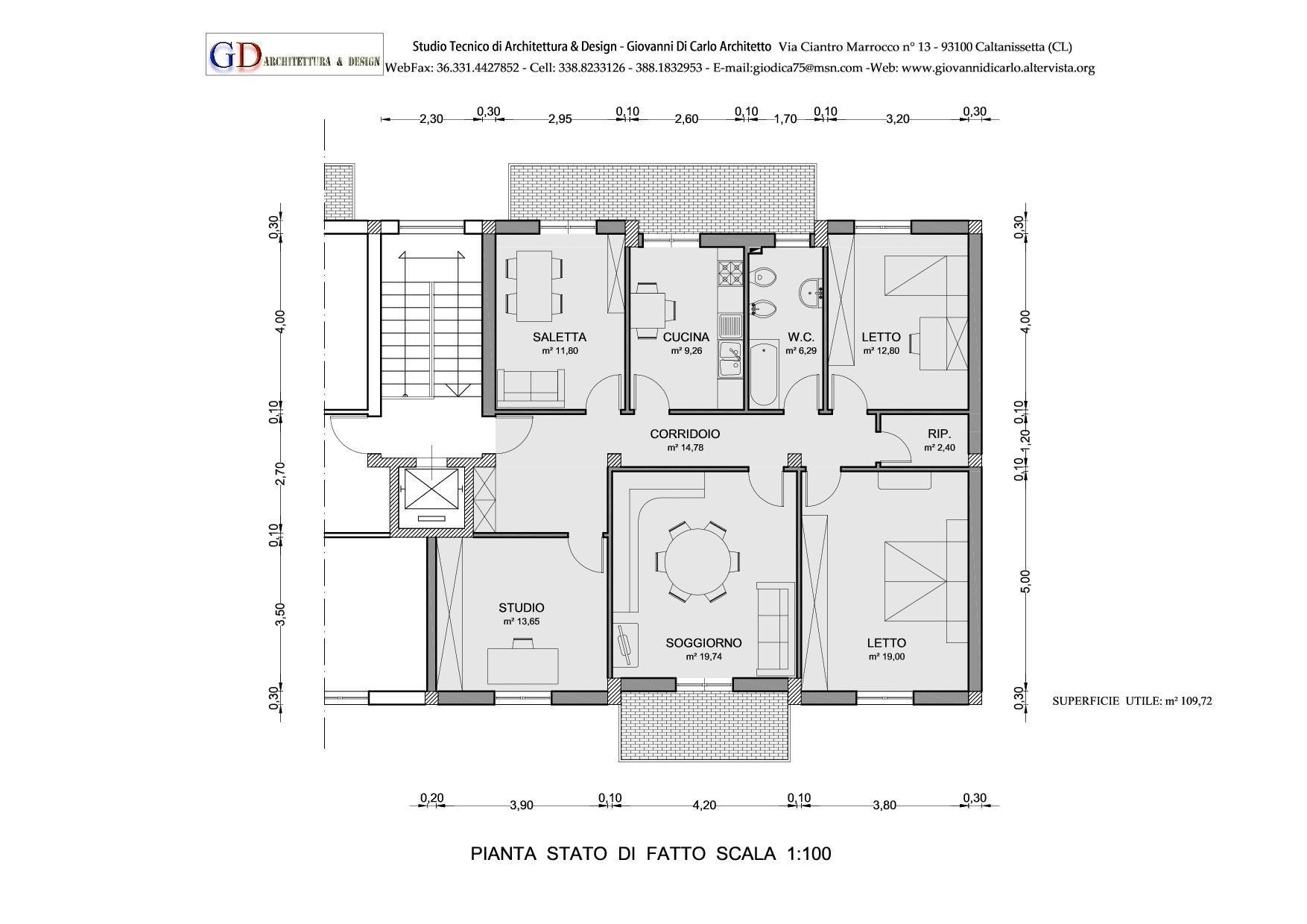 ristrutturazione edilizia caltanissetta  Giovanni Di Carlo Architetto